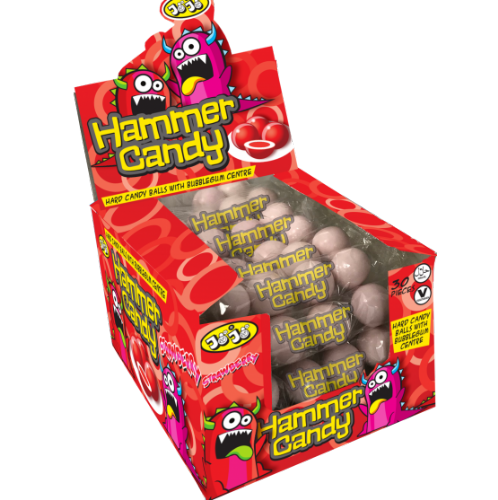 Strawberry Hammer Candy